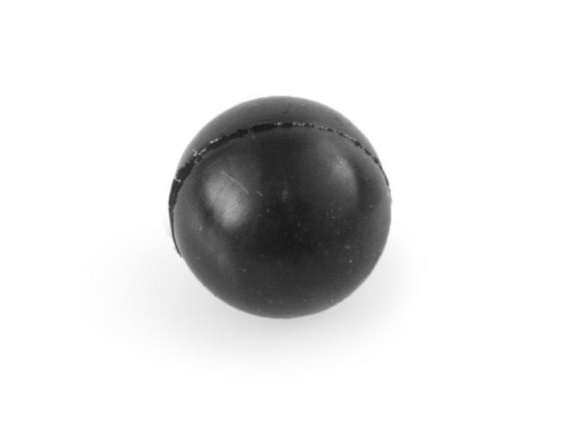Kulki stalowo-gumowe 10mm 100szt w opakowaniu - Zdjęcie