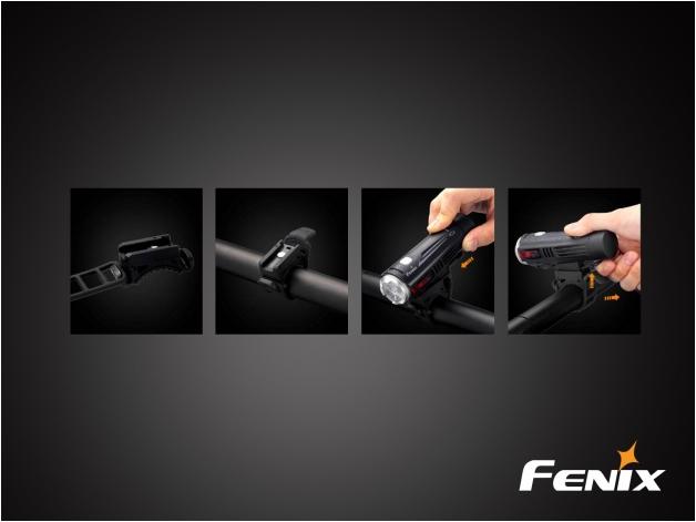 Latarka diodowa Fenix BC21R - rowerowa - Zdjęcie