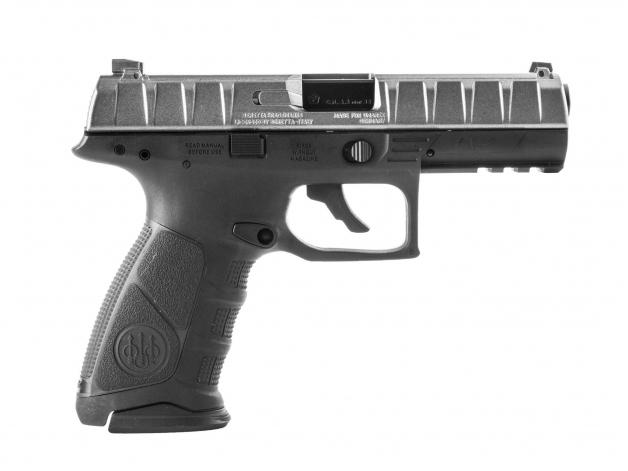 Pistolet Beretta APX satyna BBs CO2 - Zdjęcie