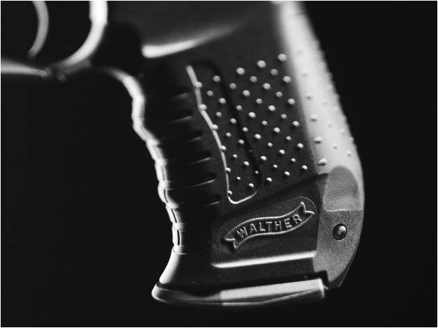 Wiatrówka pistolet Walther CP99 4,5 mm - Zdjęcie