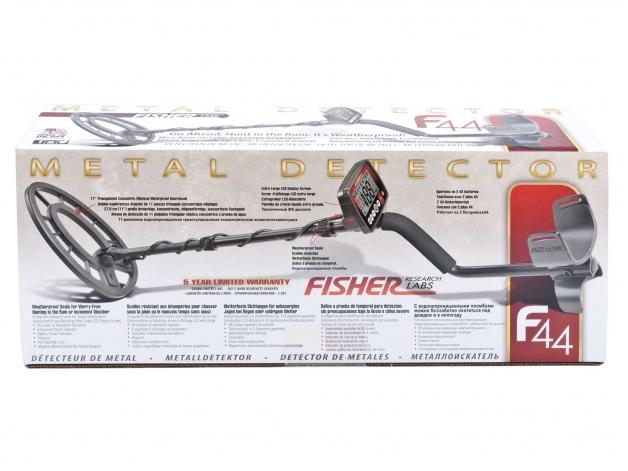 Wykrywacz metali Fisher F44 11'' - Zdjęcie
