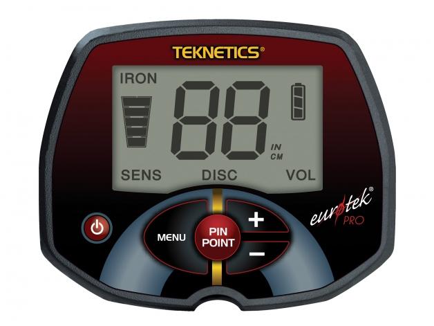 Wykrywacz metali Teknetics Eurotek PRO 8'' W ZESTAWIE - Zdjęcie