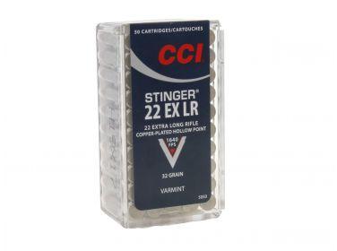 Amunicja CCI Stinger .22 LR 2,07 g/32 gr