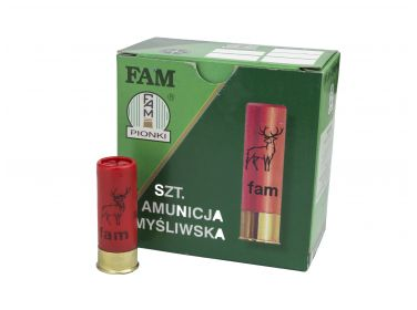 Amunicja FAM Pionki 12/70 GW 32g 3-3,25mm