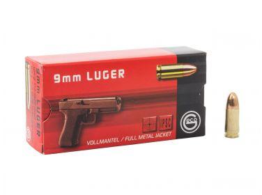 Amunicja GECO kal 9mm Luger FMJ 8g