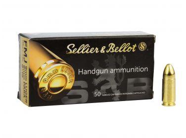 Amunicja Sellier&Bellot 9mm Luger 7.5g...