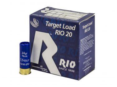 Amunicja Śrutowa Rio Target 12/70 24 g 7.5...