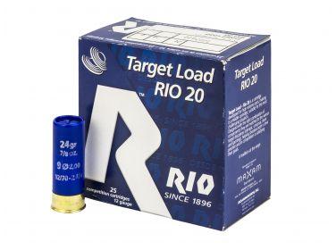 Amunicja Śrutowa Rio Target 12/70 24 g 9...