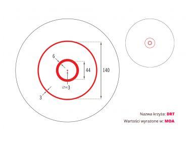 Kolimator Vortex Spitfire AR 1x Prism Scope