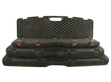Kufer na broń czarny z zatrzaskiem...