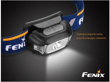 Latarka diodowa Fenix HL15 - czołówka...