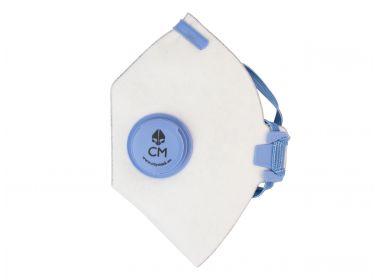 Maska antysmogowa CityMask biało-niebieska...