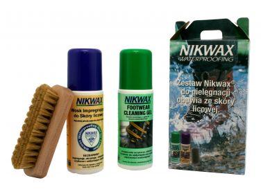 Nikwax NI-59 zestaw do obuwia skóra licowa...