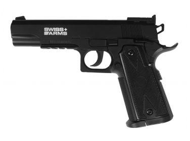Pistolet CyberGun Swiss Arms P1911 Match 4.5...