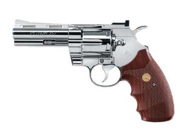 Rewolwer Colt Python 4'' 4.5 mm nikiel