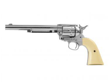 Rewolwer Colt SAA .45 7,5'' nickel BBs