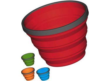 Składany kubek X-Mug 480 ml. czerwony