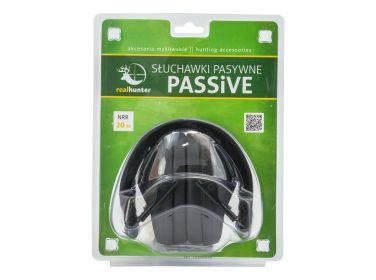 Słuchawki ochronne pasywne RealHunter...