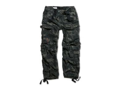 Spodnie Airborne Vintage Black Camo