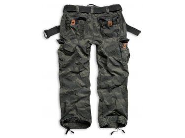 Spodnie Premium Vintage Surplus Black Camo