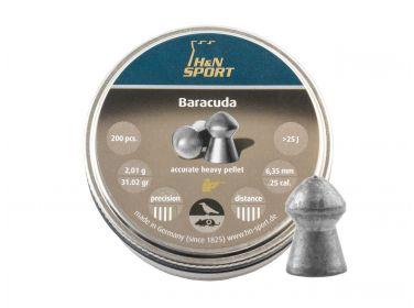 Śrut diabolo H&N Baracuda 6,35 mm 200...