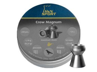 Śrut diabolo H&N Crow Magnum 5,5 mm 200...
