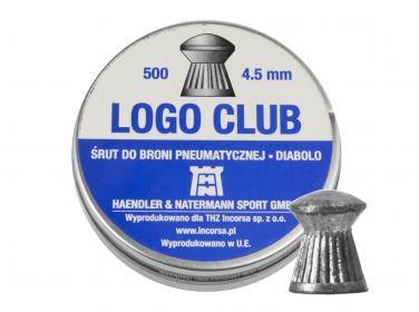 Śrut diabolo H&N Logo Club 4,5 mm 500...