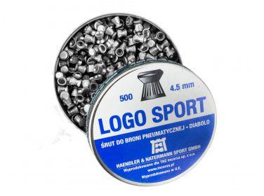 Śrut diabolo H&N Logo Sport 4,5 mm 500...