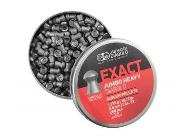 Śrut diabolo JSB Exact Jumbo Heavy 5,52 mm...
