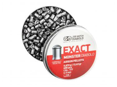 Śrut diabolo JSB Exact Monster 4,52 mm 400...