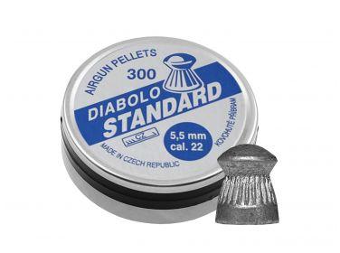 Śrut Diabolo Kovohute Standard 5,5 mm 300...