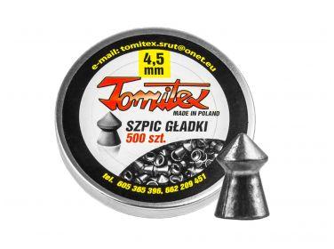 Śrut diabolo Tomitex szpic gładki 4,5 mm...