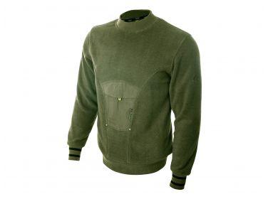 Sweter z polaru Graff 816 -S-P oliwka