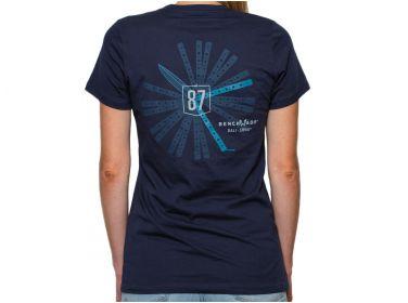 T-Shirt damski Benchmade z nadruk Bali-Song...