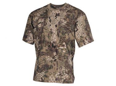 US T-shirt MFH (170 g/m2) - snake FG