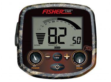Wykrywacz metali Fisher F19 LTD Camo 10''