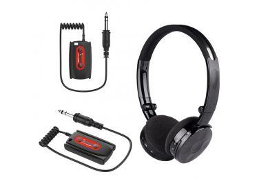 Zestaw W6 - słuchawki bezprzewodowe...
